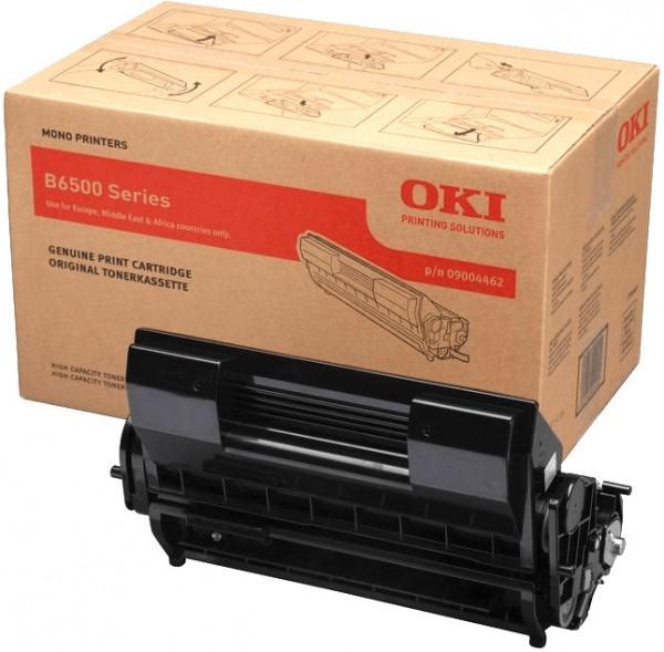 Original OKI Toner 09004462 schwarz für B 6500 B-Ware