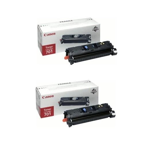 2x Original Canon Toner 9285A003 CRG701 magenta für LBP-5200 MF-8180C Neutrale Schachtel
