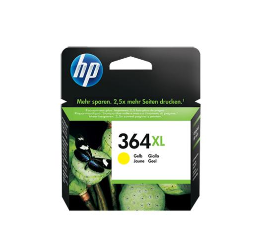 Original HP 364 XL Tinte Patrone gelb Deskjet 3070A 3520 3522 D5400 MHD