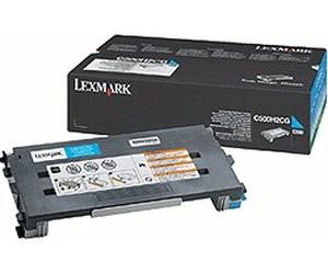 Original Lexmark Toner C500H2CG cyan für C 500 X 500 502 Neutrale Schachtel