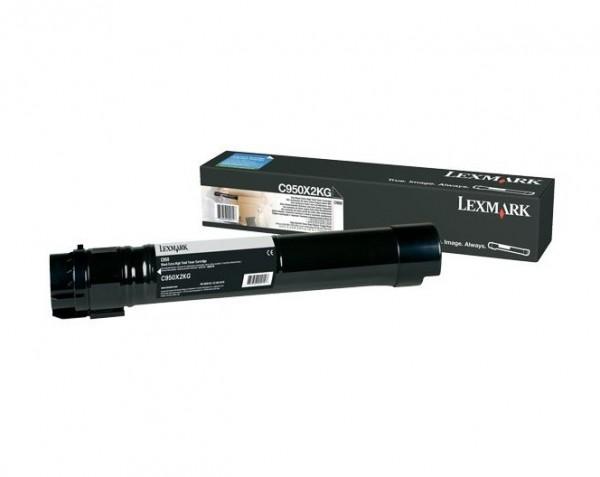 Original Lexmark Toner C950X2KG schwarz für C 950 DE
