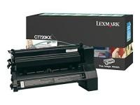 Original Lexmark Toner C7720KX schwarz für C 772 X 772 Neutrale Schachtel