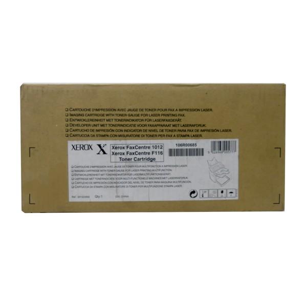 Original Xerox Toner 106R00685 schwarz für FaxCentre 1012 F 116 B-Ware