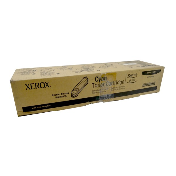 46813_Original_Xerox_Toner_106R01153_Cyan_für_Phaser_7400_Neutrale_Schachtel
