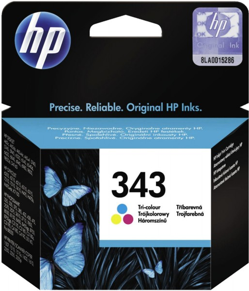 Original HP 343 Tinte Patrone PhotoSmart 2575 2605 2610 7850 8150 C3100 MHD