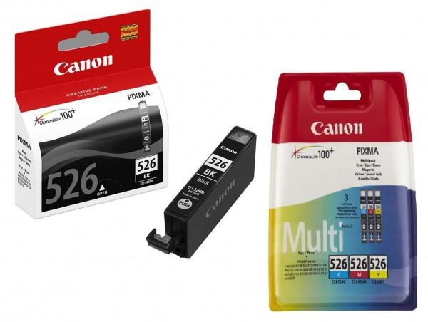 44967_4x_Original_Canon_Tinte_Patrone_CLI-526_Pixma_IP_4850_4950_IX_6550_MG_5150_5250_5350