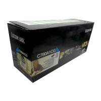 Original Lexmark Toner C780A1CG cyan für C 780 782 X 782