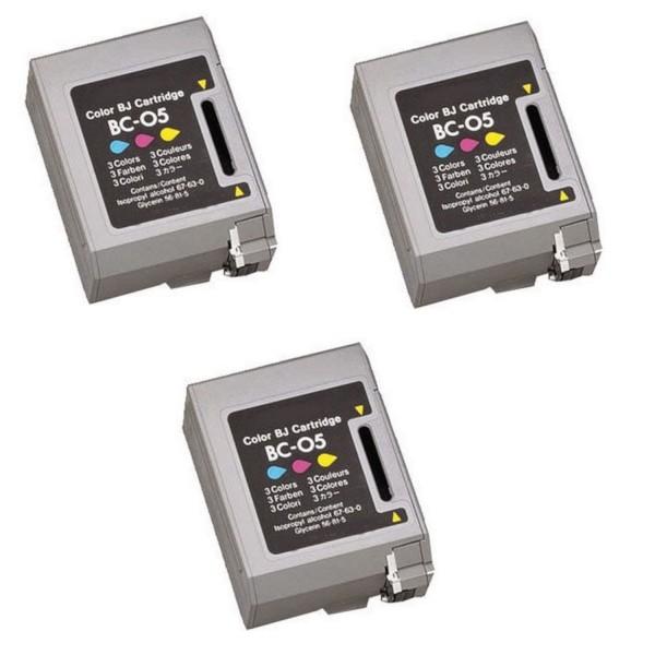 2 x Original Canon BC-05 Tinte Patronen für BJC 150 210 220 240 250 1000