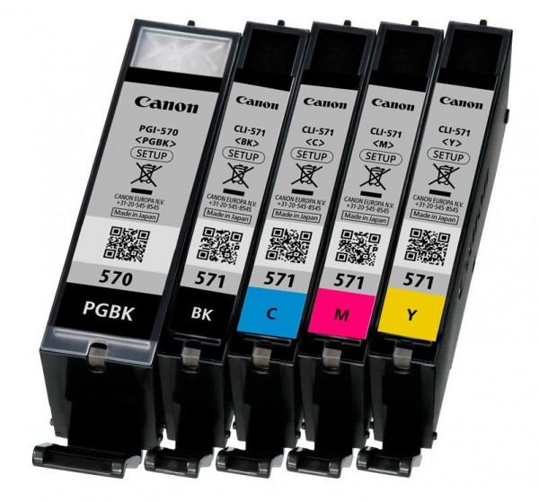 5 Original Canon Drucker Patronen TS5050 TS5051 TS5053 TS6050 TS6051 Set