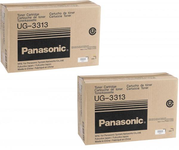 2x Original Panasonic Toner UG-3313 black für DF 1100 DX 1000 UF 890 Series