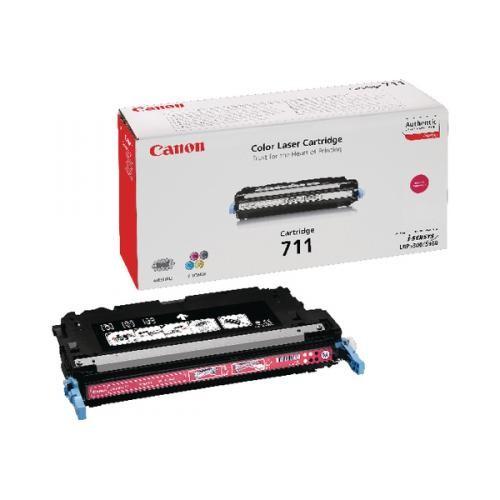 Original Canon Toner 1658B002 CRG 711 M für I-Sensys LBP 5300 MF 9100