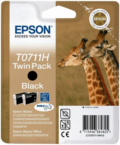 Epson T0711H (C13T07114H10) Twinpack BK OEM