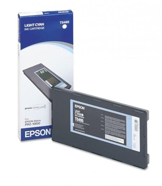 Original Epson Tinte T5495 cyan hell für Stylus Pro 10600 B-Ware