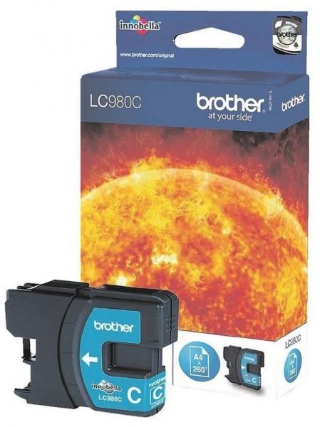 Original Brother LC-980C Tinte Patrone für DCP 145 165 167 195 197 365 373 375 377