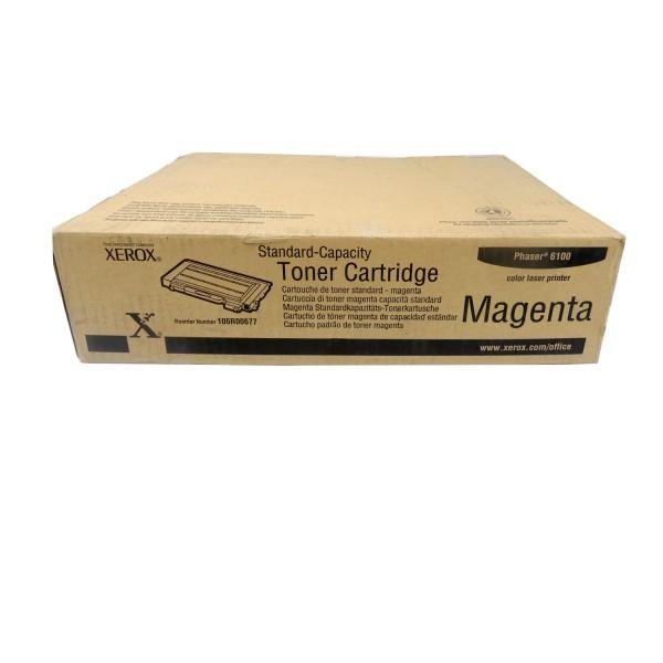 Original Xerox Toner 106R00677 magenta für Phaser 6100 B-Ware