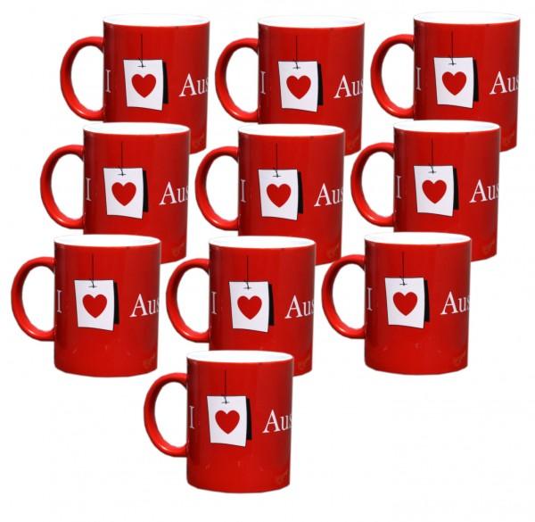 20x Austrian Kafeetasse 330 ml Tee Kafee Tasse Becher