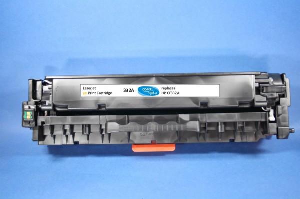 HP CF332A YE Reman