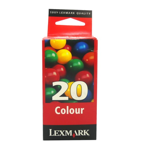 19103_Lexmark_20_Tintenpatrone_(15MX120)_farbig