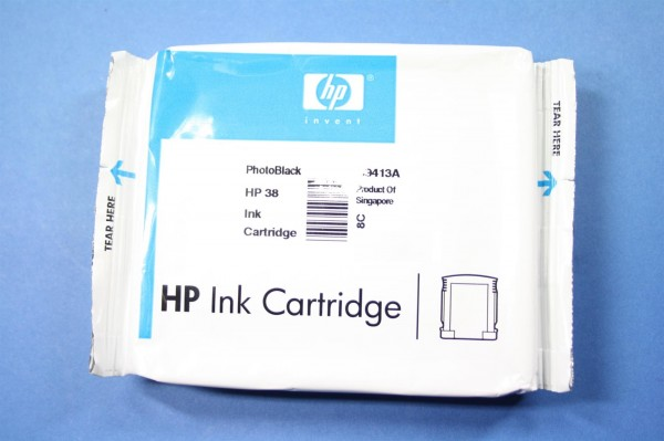 HP 38 PhBK (C9413A) OEM Blister