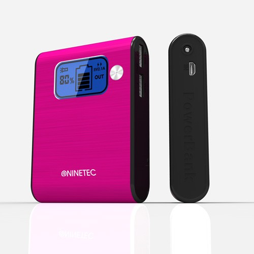 45867_NINETEC_NT-565_Power_Bank_externer_Akku_10000_mAh_pink
