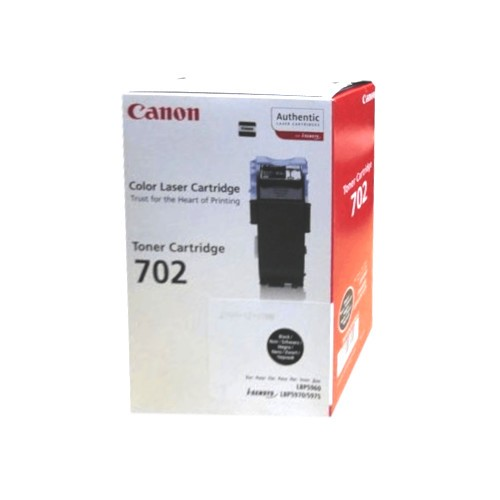 Original Canon Toner 9645A004 CRG 702 schwarz LBP 5960 5970 5975 B-Ware