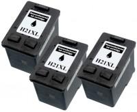 3x REMAN DRUCKER PATRONE für HP 21 XL DESKJET F370 F375 F380 F2180 F2224 F2280 F4180