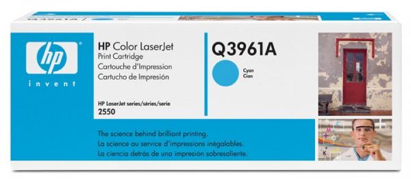 2x Original HP Toner Q3961A 122A cyan Laserjet 2550 2550L 2550LN B-Ware