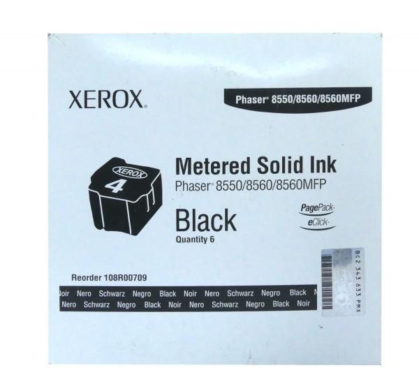 Original Xerox Toner 108R00709 schwarz für Phaser 8550 8560 5860MFP