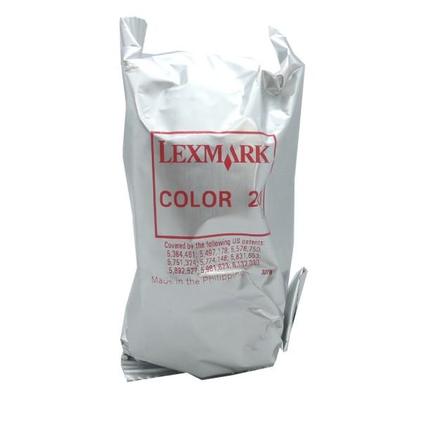 Lexmark 20 COL (15M0120) OEM Blister