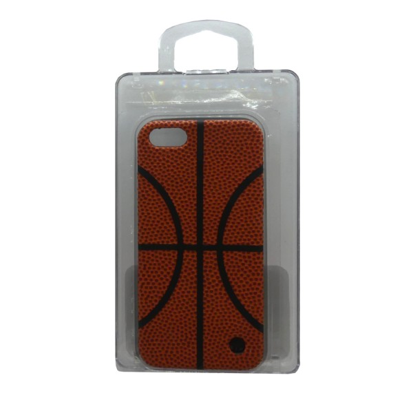 Trexta iPhone 5 / iPhone 5S Sports Series Soft Shell Leather Case Basketball