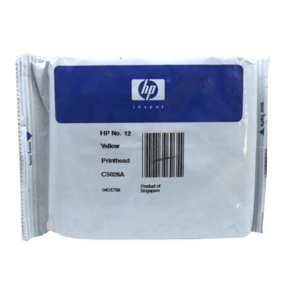 HP 12 (C5026A) Printhead YE OEM Blister