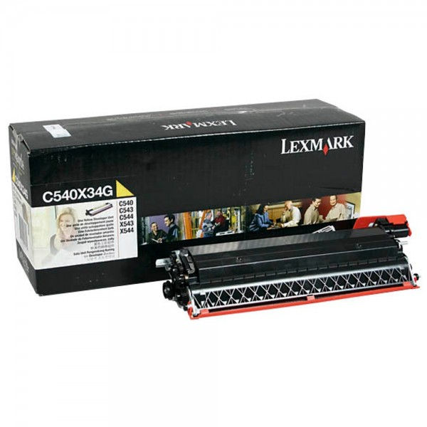 Original Lexmark Entwicklereinheit C540X34G für C540 C543 C546 Neutrale Schachtel