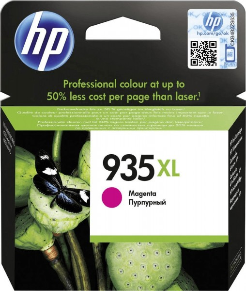 Original HP 935XL Tinte Patrone magenta OfficeJet 6820 6230 6830 6835 MHD