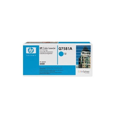 Original HP Toner 503A Q7581A cyan für LaserJet CP3505 3800