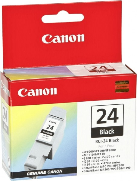 Canon BCI-24 BK (6881A002) OEM