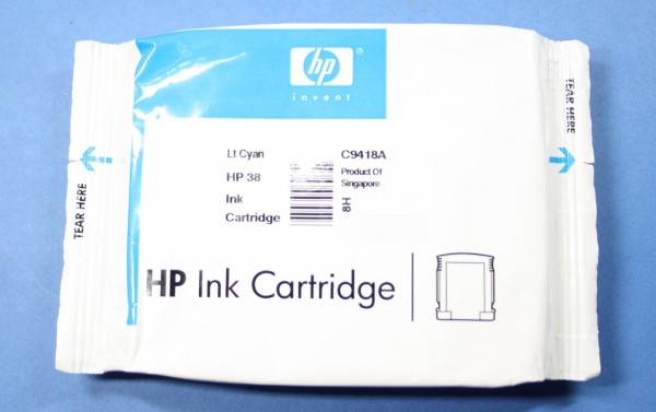 HP 38 LCY (C9418A) OEM Blister
