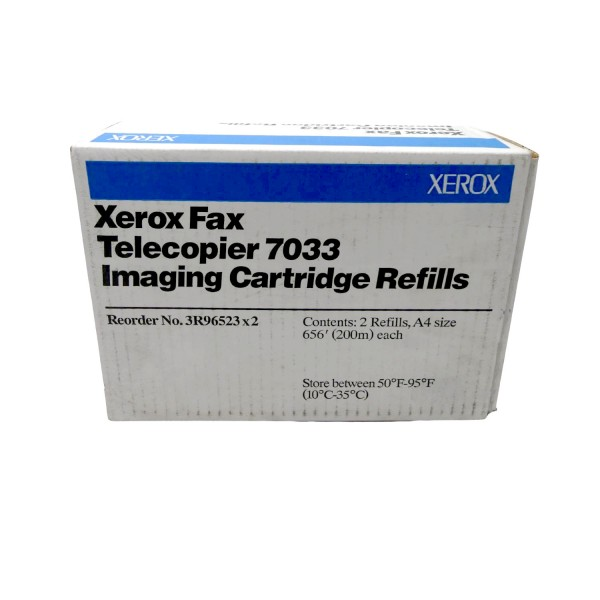 Original Xerox 3R96523X2 Imaging Cartridge Refills Telecopier 7032 7033 B-Ware