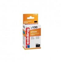 Original Edding Tinte Patrone 130 für Epson T0611 Stylus D68 D88 DX3800 DX3850