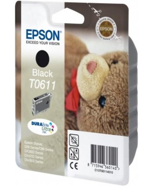 Original Epson Tinte T0611 D68PE D88PE DX3800 DX3850 DX4200 DX4250 DX4800 DX4850