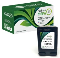 HP Tinte 62XL Schwarz/Black Reman