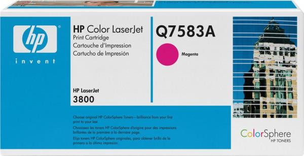 Original HP Toner Q7583A magenta für LaserJet CP3505 3800