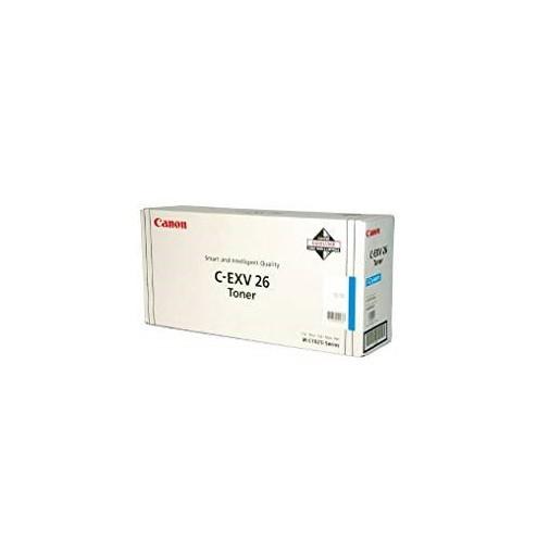 Original Canon Toner 1659B006 C-EXV 26 cyan für iR C1021 C1028 Neutrale Schachtel