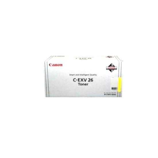 Original Canon Toner 1657B007 C-EXV 26 gelb für iR C1021 C1028