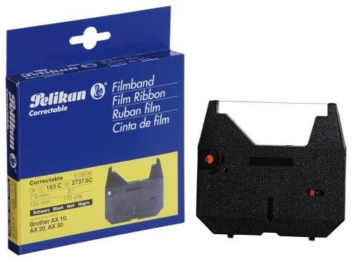 Pelikan Hardcopy Pelikan Farbband, Gruppe 153 C, Carbon, schwarz Maße: (B)7,9 mm x (L)155 m