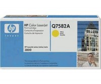 Original HP Toner 503A Q7582A gelb für LaserJet CP3505 3800 B-Ware
