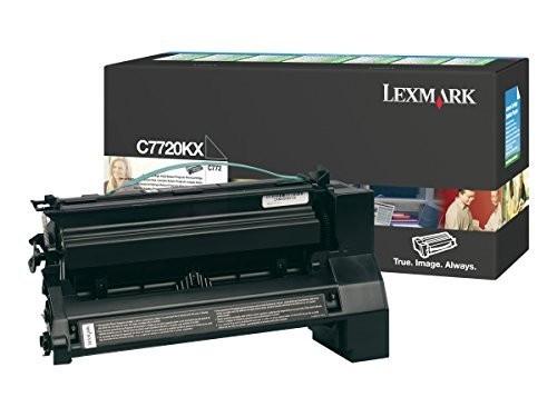 Original Lexmark Toner C7720KX schwarz für C 772 X 772
