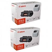 2x Original Canon Toner 1559A003 FX-6 für FAX L1000 LASER CLASS 3170 3175