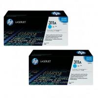 2x Original HP Toner 311A Q2681A cyan für Laserjet 3700 3700N Neutrale Schachtel