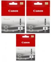 2x Original Canon Tinte CLI-8BK schwarz für iP4300 iP4500 iP5200 iP5300