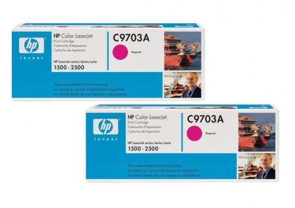 Original HP Toner C9703A magenta für Color LaserJet 1500 2500